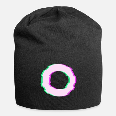 Techno Music Distortion Techno Music Geschenkidee - Jersey-Beanie