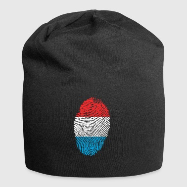 Fingerprint i love Luxembourg Luxembourg - Jersey Beanie