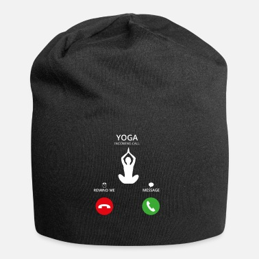 Calling Call Mobile Call yoga - Jersey Beanie