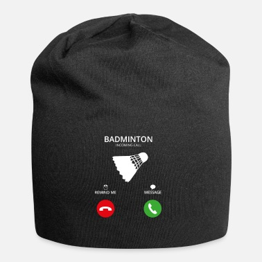 Mobil Call Mobile Anruf badminton - Beanie