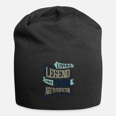 Since Living Legend Since 1956 - Beanie in jersey