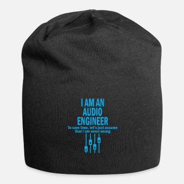 Audio Soy ingeniero de audio - Beanie