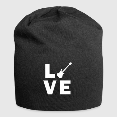 Love Bass Guitar - Jersey Beanie