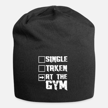 Funny Gym At the Gym Gift - In the gym - Jersey Beanie