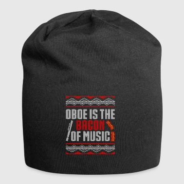 Oboe Oboe is the Bacon of Music Ugly - Jersey Beanie