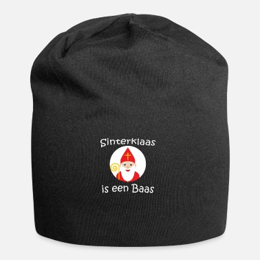 Dutch Sinterklaas is een Baas Dutch Netherlands Children - Jersey Beanie