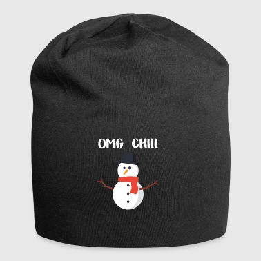 OMG Chill-cadeau voor Chill People - Jersey-Beanie