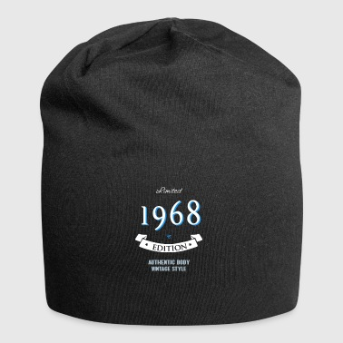 1968 birthday 50 years jubilee edition vintage - Jersey Beanie
