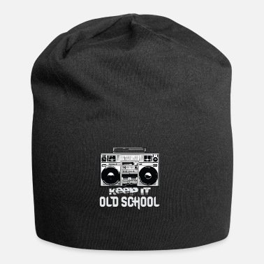 Boombox Old School Boombox 80s | Keeping It Old School - Beanie in jersey