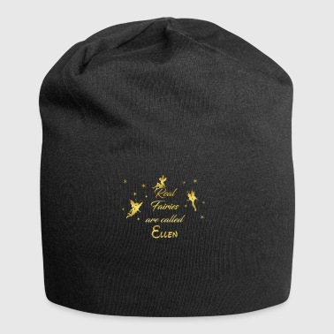 fairy fairies fairy first name name Ellen - Jersey Beanie
