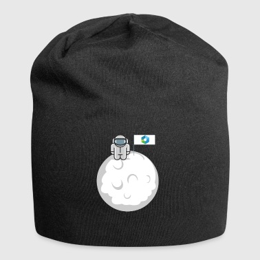 Astronaut Ripple To The Moon Astronaut Digital Crypto XRP - Jersey Beanie