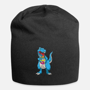 Easter Bunny Dinosaur T-Rex Easter Bunny Happy Easter Gift - Beanie