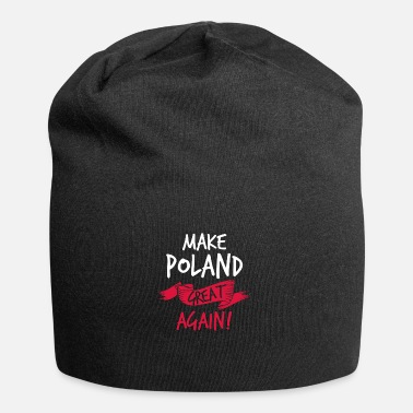 Polen Make Poland Great Again colored - Jersey-Beanie