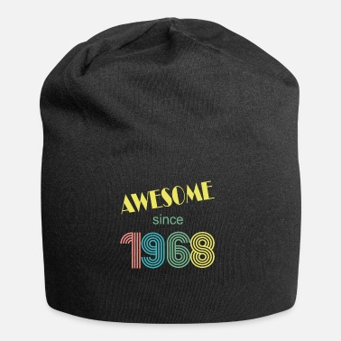 awesome since 1968 retro vintage - Beanie