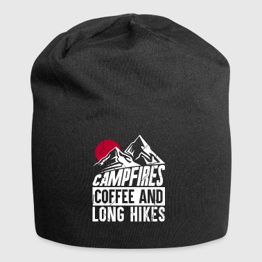 Campfires coffee and long hikes - Jersey Beanie