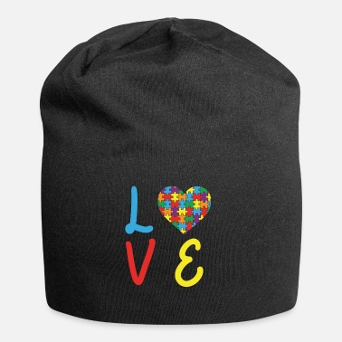 Autism Awareness Love Autism Autism Awareness Day - Jersey Beanie