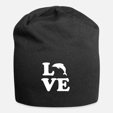 Marine Animal Dolphin love marine animal - Jersey Beanie