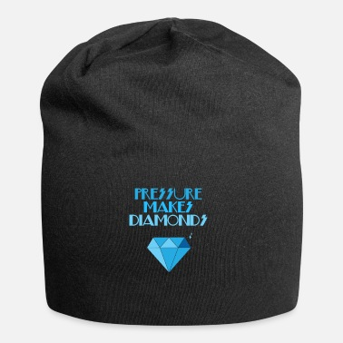 Diamant Diamanter - Diamanter - Diamant - Tryck - Beanie