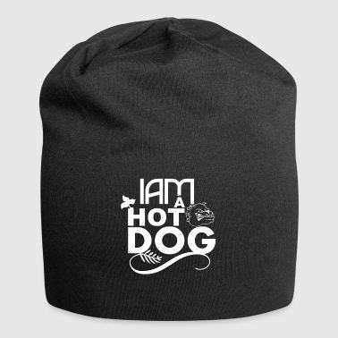 Je suis un hot dog Je suis un hot-dog - Bonnet en jersey