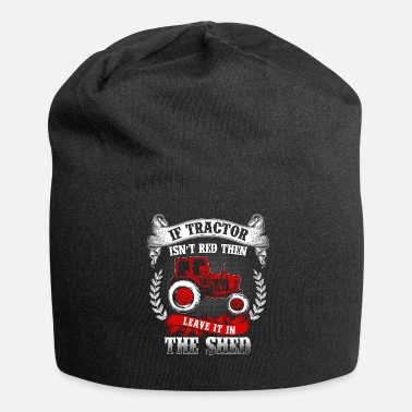 Tractor Tractor agriculture farmer gift · tractor - Jersey Beanie