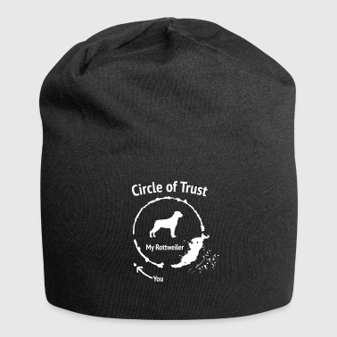 Funny Rottweiler Shirt - Circle of Trust - Jersey Beanie