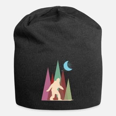 Big Foot abstract big foot - Jersey Beanie