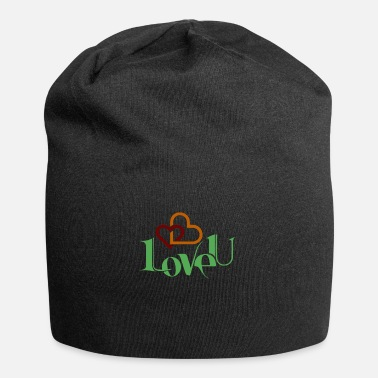 Love You I love you nice shirt as a love gift - Beanie