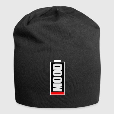 MOOD low humor or low battery - Jersey Beanie
