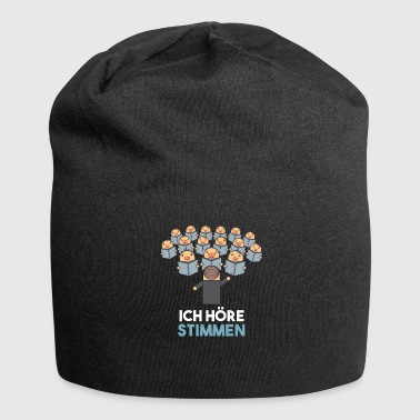 I Hear Voices Choir Director Shirt - Gift - Jersey Beanie
