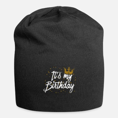 Spoof Birthday crown princess daughter girl child - Jersey Beanie