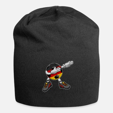 Soccer Ball Soccer Germany Soccer Dabbing Ball Dab Cool - Jersey-Beanie