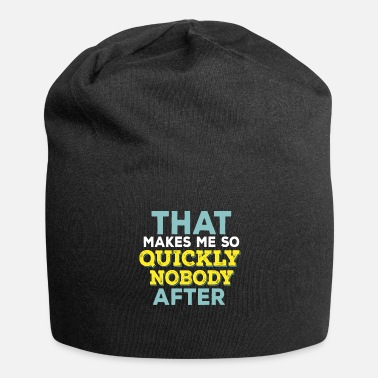 Funny Quotes Funny Quotes - Jersey Beanie