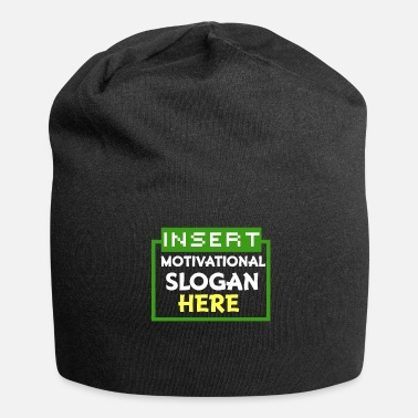 Slogan Motivations-Slogan - Beanie