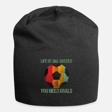 Retro Life Is Like Soccer Retro Style - Beanie