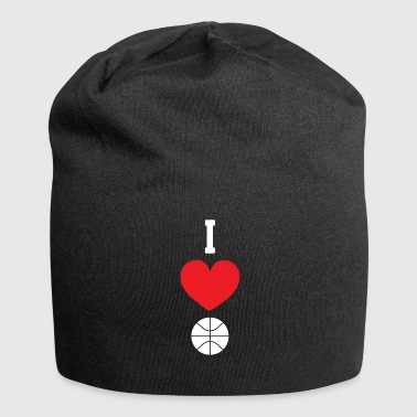 I love basketball - Jersey Beanie