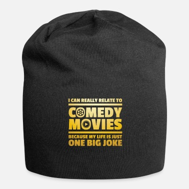 Comedy Comedy Movies Goer - Jersey Beanie