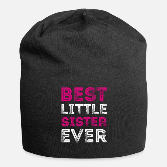 Sister Caps & Hats - BEST LITTLE SISTER EVER Best Little Sister - Beanie black
