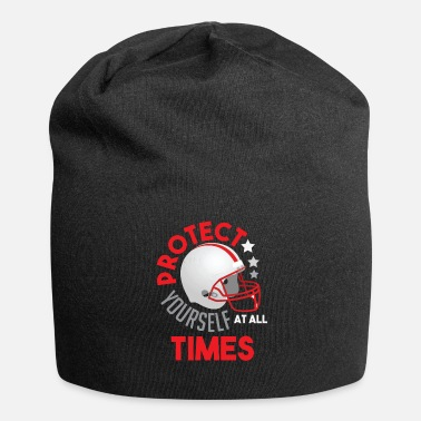 Protect youself times Football Helmet Gift Fan - Beanie