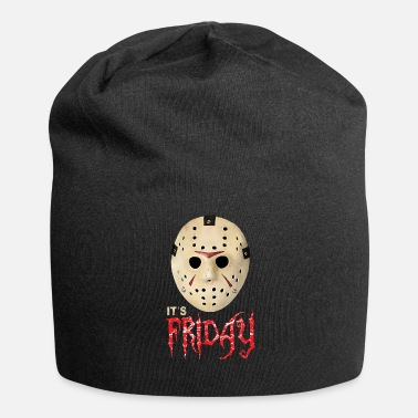 Jason Jason on Friday the 13th and Halloween - Jersey Beanie