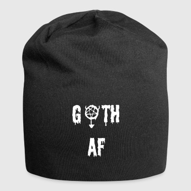 Goth as fu ** - Gift for Gothic's Goths - Jersey Beanie