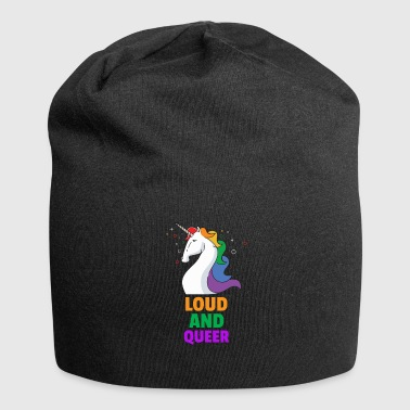 Loud and gay - Jersey Beanie