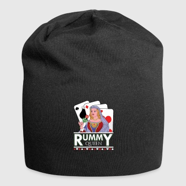 Rummy Queen Card Deck - Bonnet en jersey