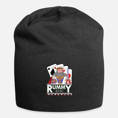 Poker Mazzo di carte di Rummy King - Beanie in jersey