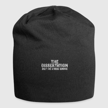 Thesis Doctoral Thesis Shirt Phd Doctorate Graduation Career - Jersey Beanie