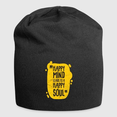 Saying gift bliss soul happiness happy - Jersey Beanie