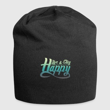Say bliss happily happy gift - Jersey Beanie