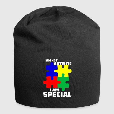 I am not autistic, I am .. - gift - Jersey Beanie