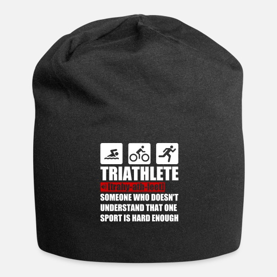Triathlete Caps & Mützen - Triathlete - Beanie Schwarz