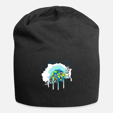 Darwin Evolution Modern world work job - Beanie