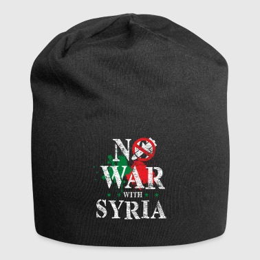 Syria flag country Patriot Middle East war - Jersey Beanie